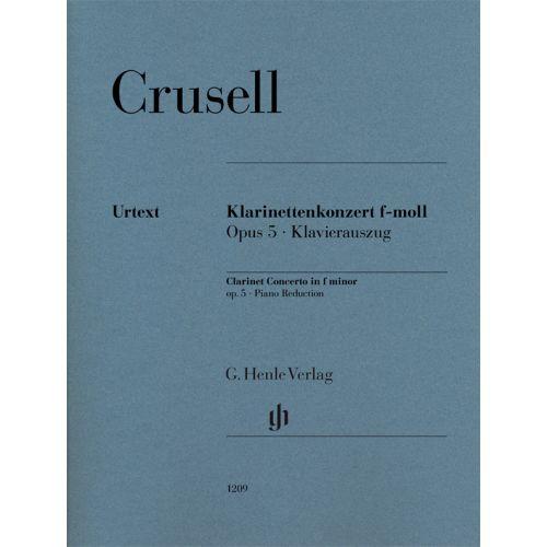 Konzertinf-mollop.5para clarinete y piano. BernhardHendrikCrusell