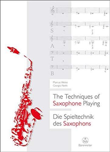 DieSpieltechnikdesSaxophons(2010)MarcusWeiss/Giorgio Netti