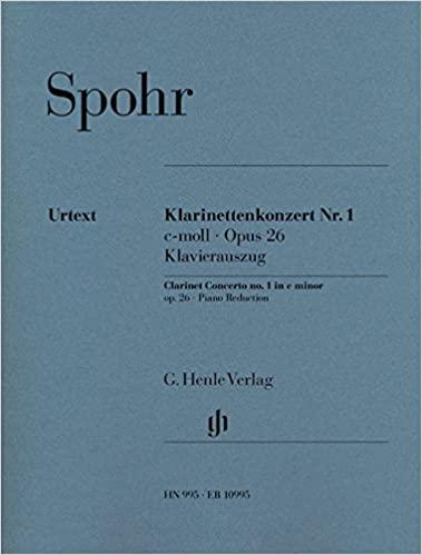 KonzertNo.1inc-mollop.26(1809)para clarinete y piano. LouisSpohr