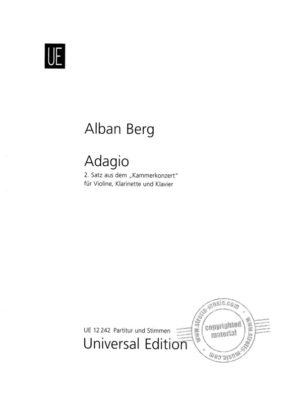 Adagio,2. Alban Berg