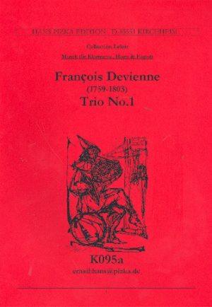 TrioNo.1para clarinete, trompa y fagot. FrancoisDevienne