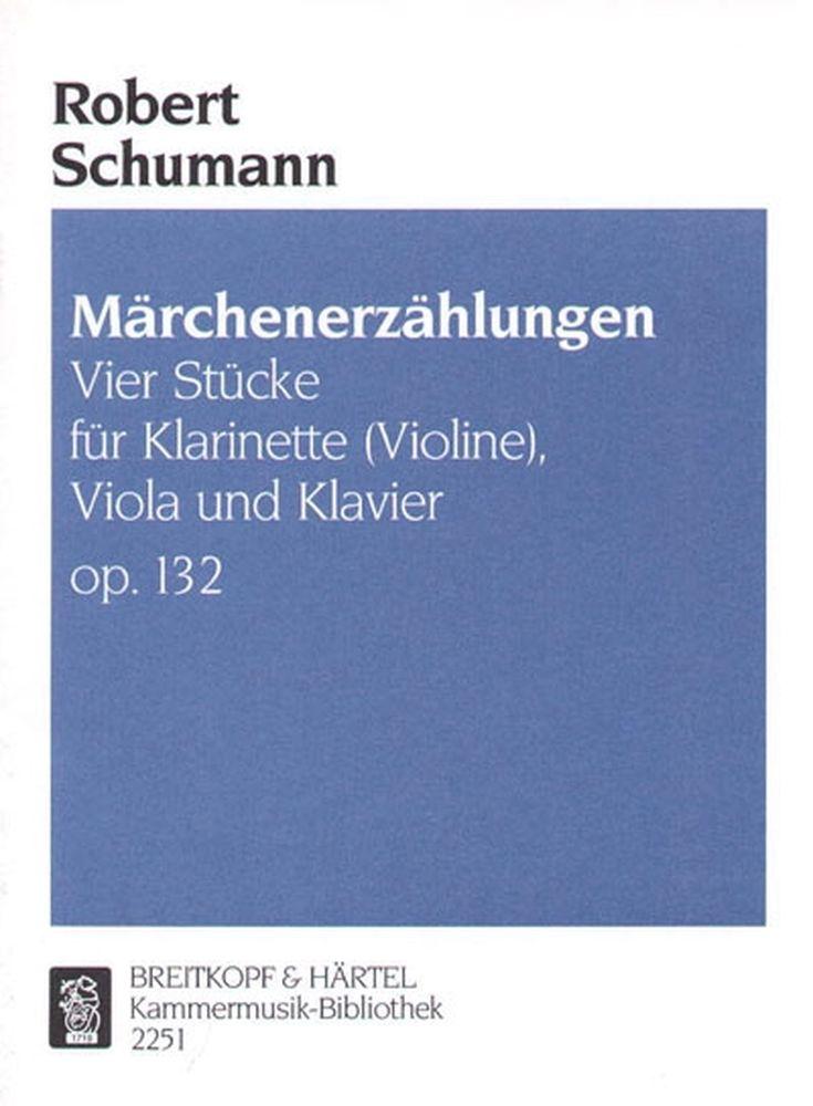 Märchenerzählungenop.132.para clarinete. RobertSchumann