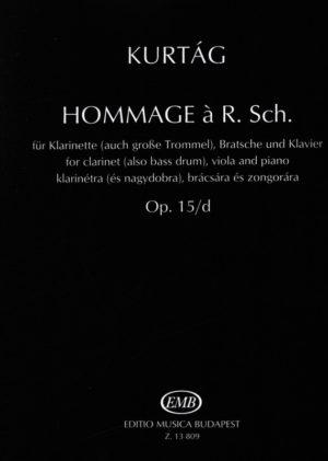 HommageàR.Sch.op.15/d(1990).György Kurtag