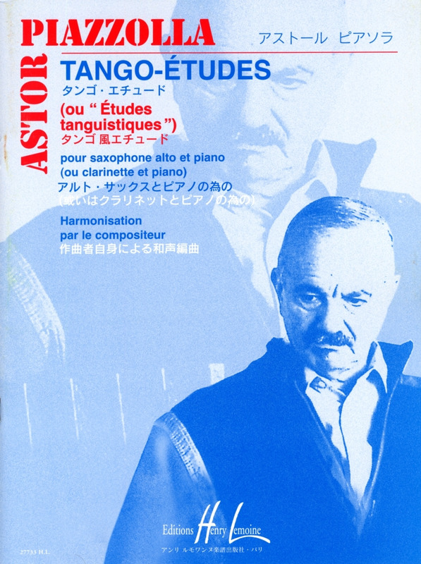 6Tango-Etudesou'Etudestanquistiques'para clarinete o saxofón alto. AstorPiazzolla