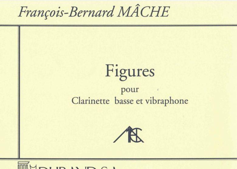 Figures(1989)para clarinete bajo y vibráfono. Francois-Bernard Mache
