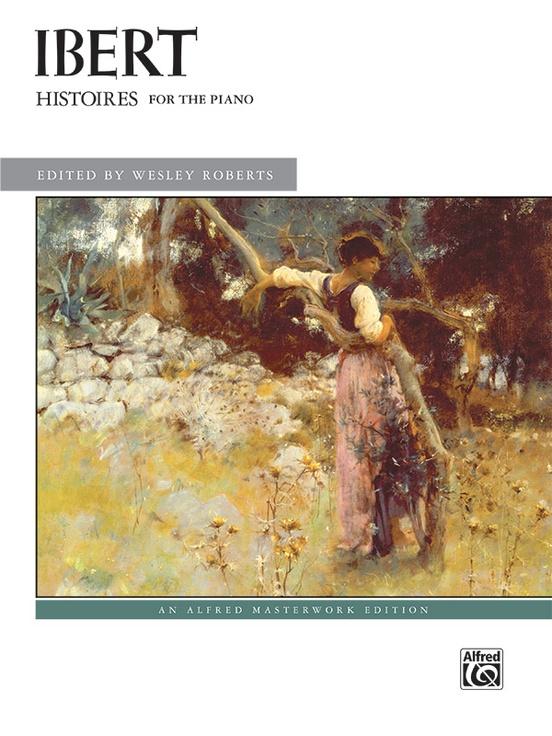 Histoires(1920/1921)para clarinete y piano. JacquesIbert