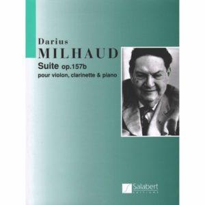 Suiteop.157bpara violín, clarinete y piano. Darius Milhaud