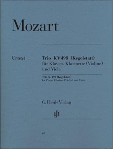 TrioinEs-DurKV498para clarinete. WolfgangAmadeusMozart