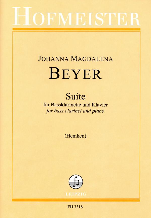 Suite(1937)para clarinete bajo y piano.JohannaMagdalenaBeyer