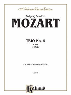 TrioNo.IV. WolfgangAmadeus Mozart