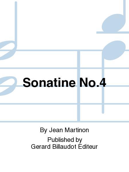 SonatineNo.4. Jean Martinon