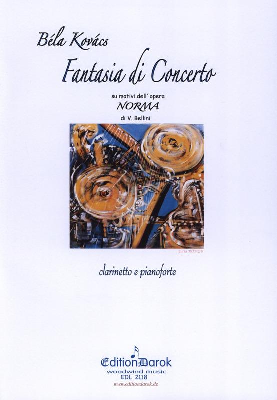 FantasiadiConcertosumotividell'opera''Norma'diV.Bellini para clarinete y piano. Bela Kovacs