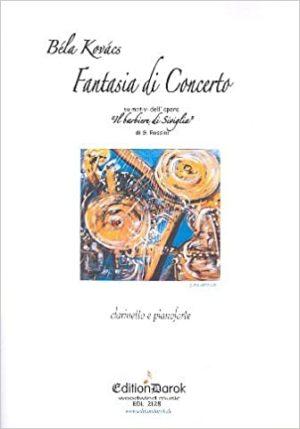 FantasiadiConcertosumotividell'opera'IlBarbierediSiviglia'para clarinete y piano. Bela Kovacs