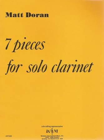 SevenPiecespara clarinete solo. Matt Doran