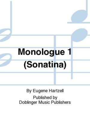Monologue1. Eugene Hartzell