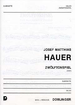 Zwölftonspiel(1947) JosefMatthias Hauer