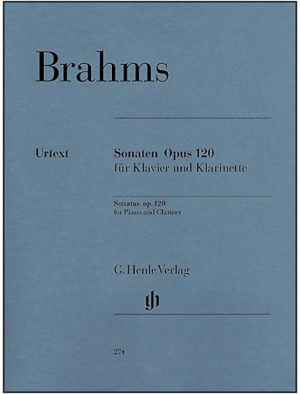 Sonateop.120No.1. Johannes Brahms