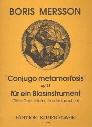 ConjugoMetamorfosisop.31. Boris Mersson