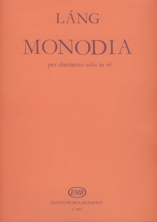 Monodia. Istvan Lang