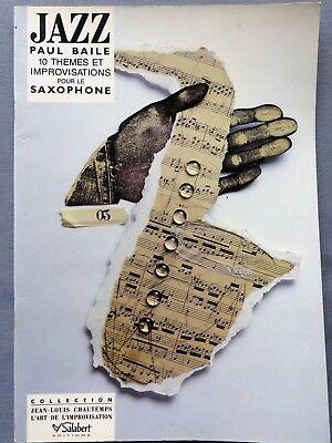10JazzThemesetImprovisations(1990) Paul Baile