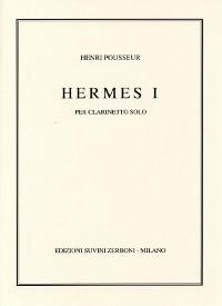 Hermes I (1983) para clarinete solo. Henri Pousseur