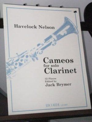 Cameos(1982)para clarinete solo. Havelock Nelson