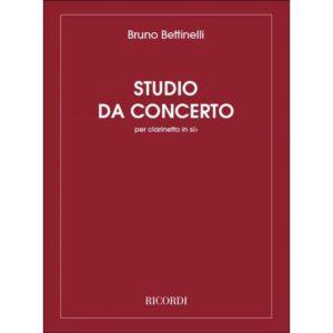 StudiodaConcertoperClarinetto(1971)Bruno Bettinelli