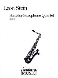 Suite(1967)para cuarteto de saxofones. Leon Stein