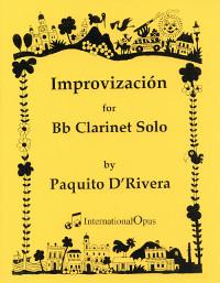 Improvizacion(1965)para clarinete solo. Paquitod' Rivera