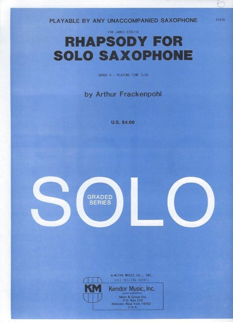 Rhapsodie(1984) Arthur Frackenpohl