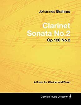Sonateop.120No.2para clarinete y piano. Johannes Brahms