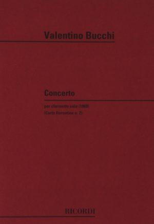 Concerto(1969)para clarinete solo. Valentino Bucchi
