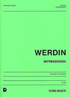 Impressionenop.136para clarinete solo. Eberhard Werdin