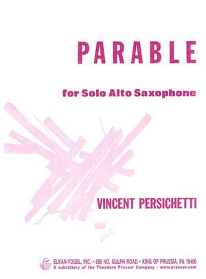 ParableXIop.123. Vincent Persichetti